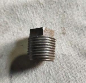 Dead Plug 50 mm (F30145000)