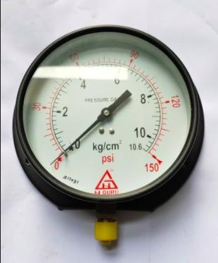 Pressure Gauge 0-10.5 kg 6'' dia  (B16901034)