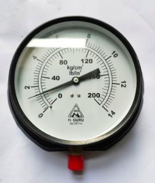 Pressure Gauge 0-14 kg 4'' dia  (B16971434)