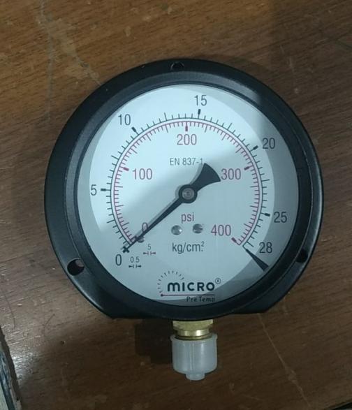 Pressure Gauge 0-28 kg 10'' dia  (B16832834)