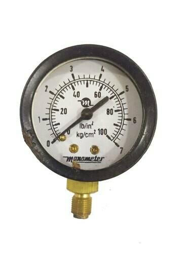 Pressure Gauge 0-7 kg 4'' dia (B16970434)