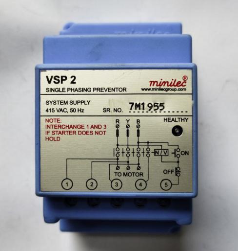 Single Phase Preventor (SPPR) (E36021010)