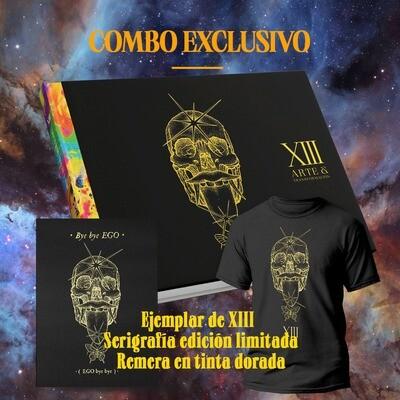 PREVENTA XIII EDICION LIMITADA: LIBRO + SERIGRAFIA + REMERA