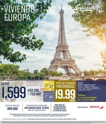 Viviendo Europa