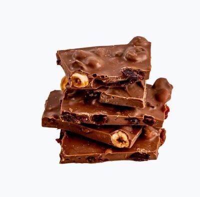 33% Milk Chocolate Fruit & Nut Shards 150g