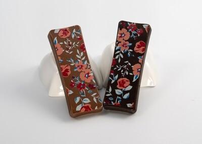 Mini Floral Caramelised Wafer Crunch Bars