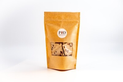 28% White Chocolate with Colombia Roasted Coffee and Roasted Cocoa Nibs