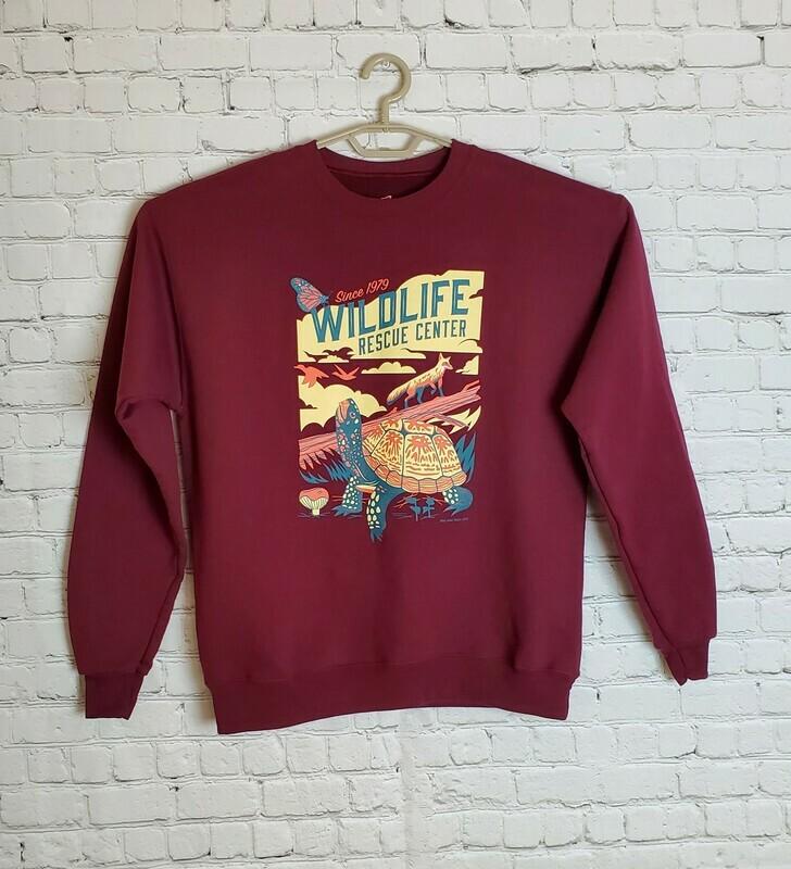 Biodiversity Adult Crew Neck Eco-Sweatshirt