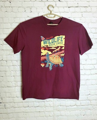 Biodiversity Adult Short Sleeve (Maroon)