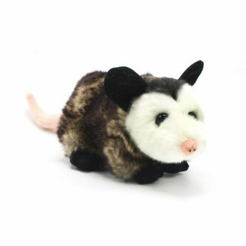 "8.5"" Opossum Plush by Wildlife Artists"