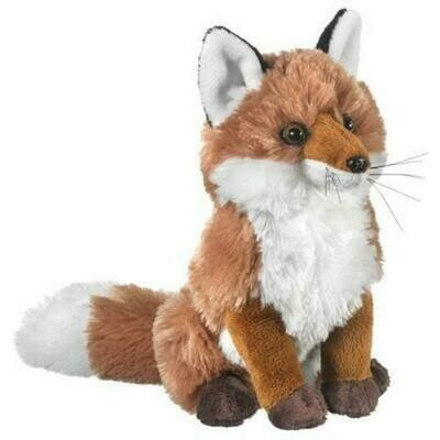 "9"" Red Fox Plush by Wildlife Artists"