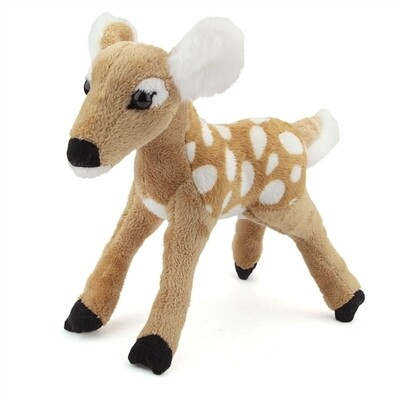 """10"""" Fawn Plush by Wildlife Artists"""