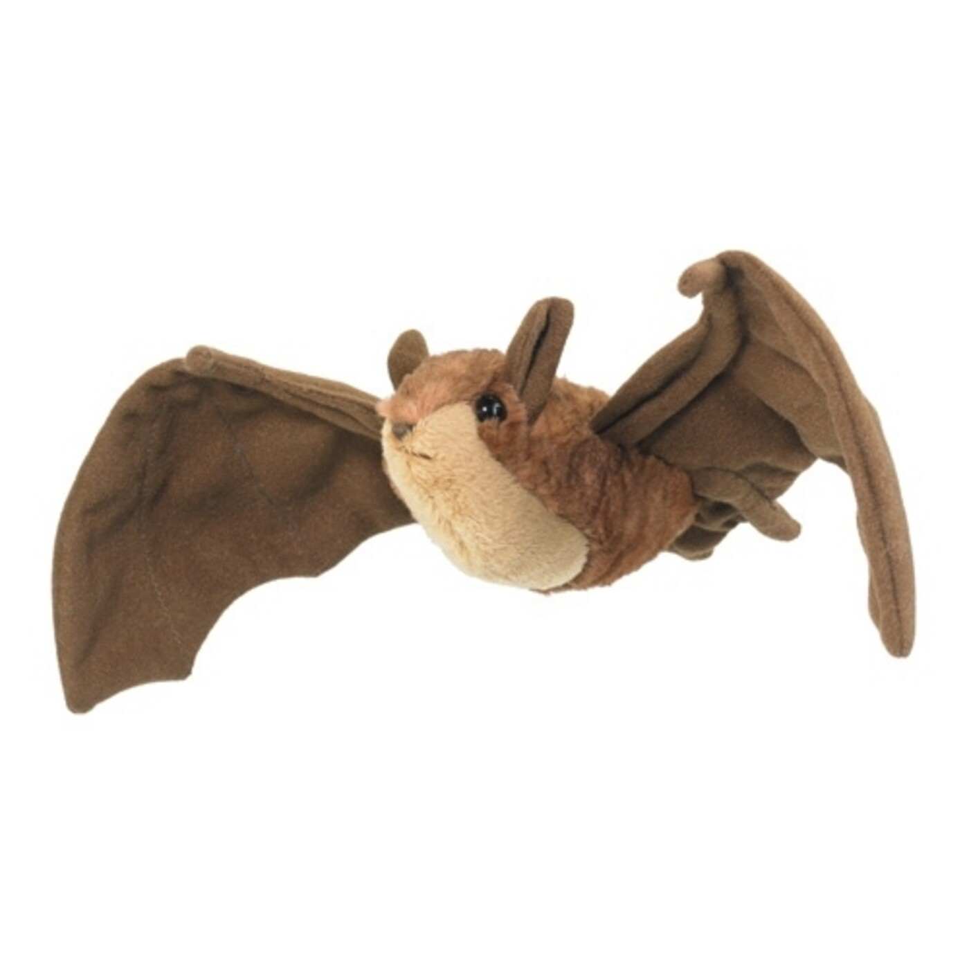 "8"" Brown Bat Plush by Wildlife Artists"