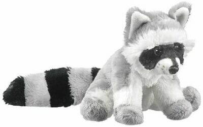 "8"" Raccoon Plush by Wildlife Artists"