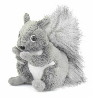 "6"" Grey Squirrel Plush by Wildlife Artists"