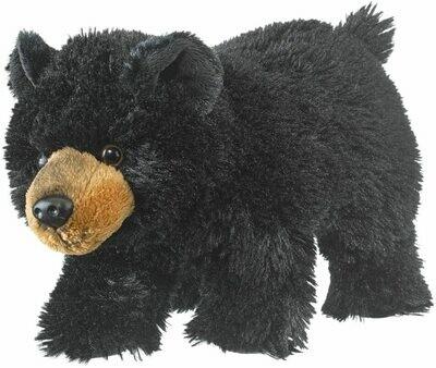 "11"" Black Bear Cub Plush by Wildlife Artists"