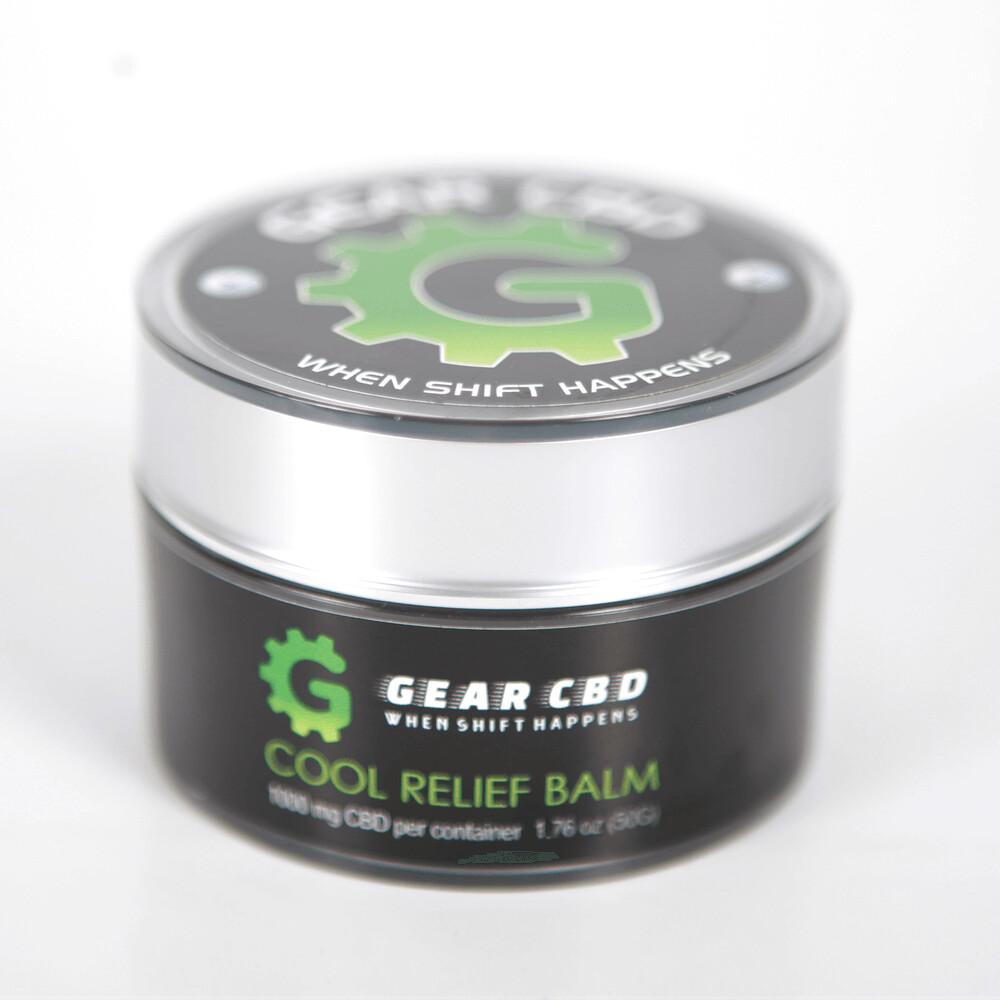 Gear CBD Cool Relief Balm - 1000 mg