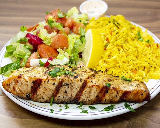 Assiette de saumon / Salmon Plate