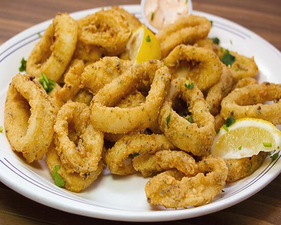 Assiette de calamars / Squid Plate
