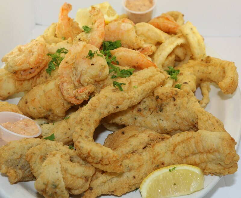 Friture famille 4 personnes / Family Fried Combo 4 persons