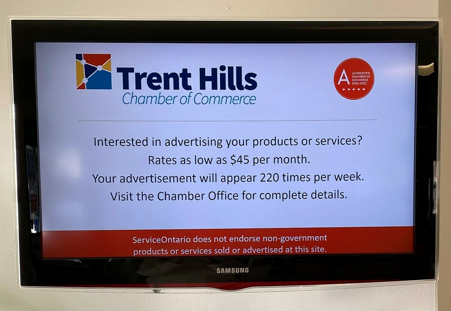 Chamber TV Ad Channel