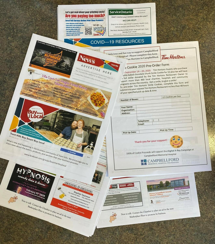 Chamber Newsletter Advertising