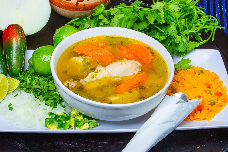 Caldo De Pollo / Chicken Soup