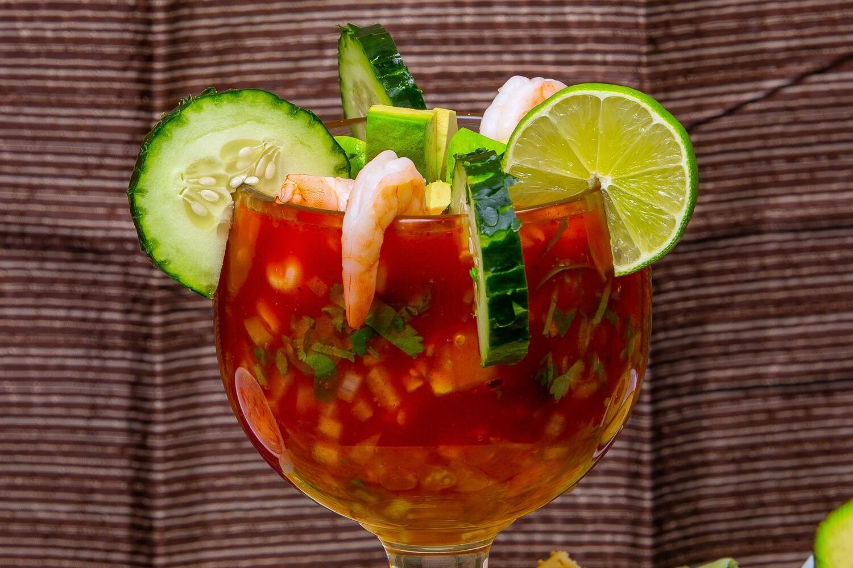 Coctel de camaron / Shrimp cocktail
