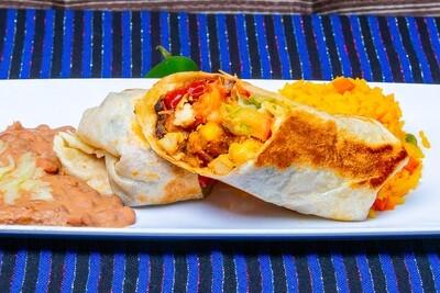 Burrito Kids Menu