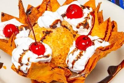Nieve Frita / Fried Ice Cream
