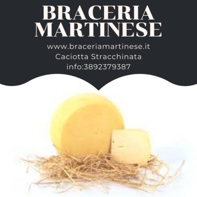 Caciotta Stracchinata Martinese 500 gr.