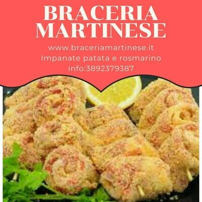 Impanate Patata Arrosto e Rosmarino