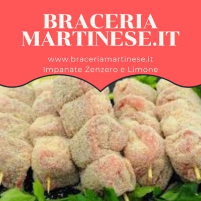 Bombette Impanate Zenzero e Limone