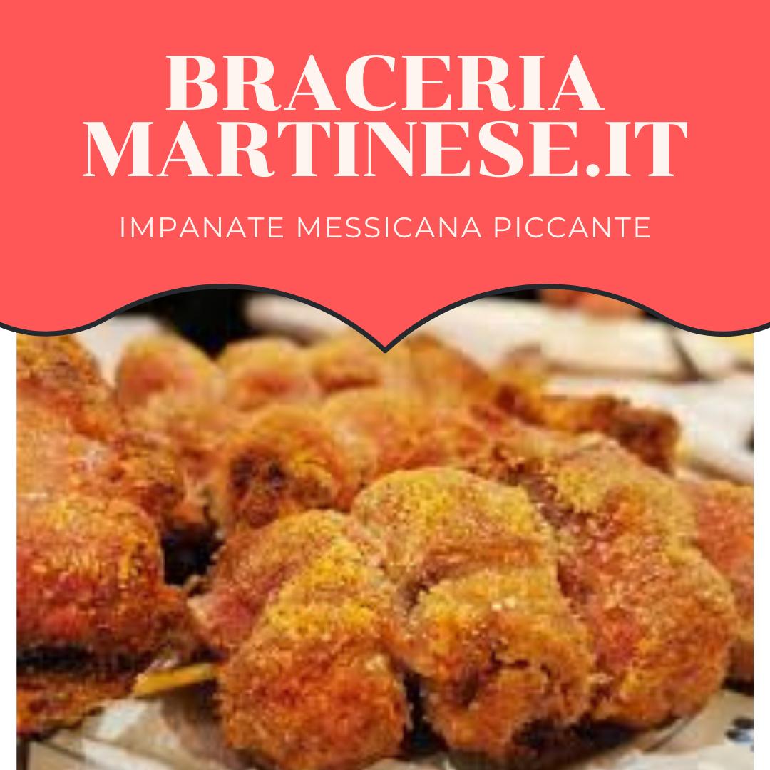 Impanate Messicana piccante
