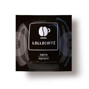 Lollocaffè LOLLOCAFFÈ BOX CIALDE 44MM NERO 150PZ