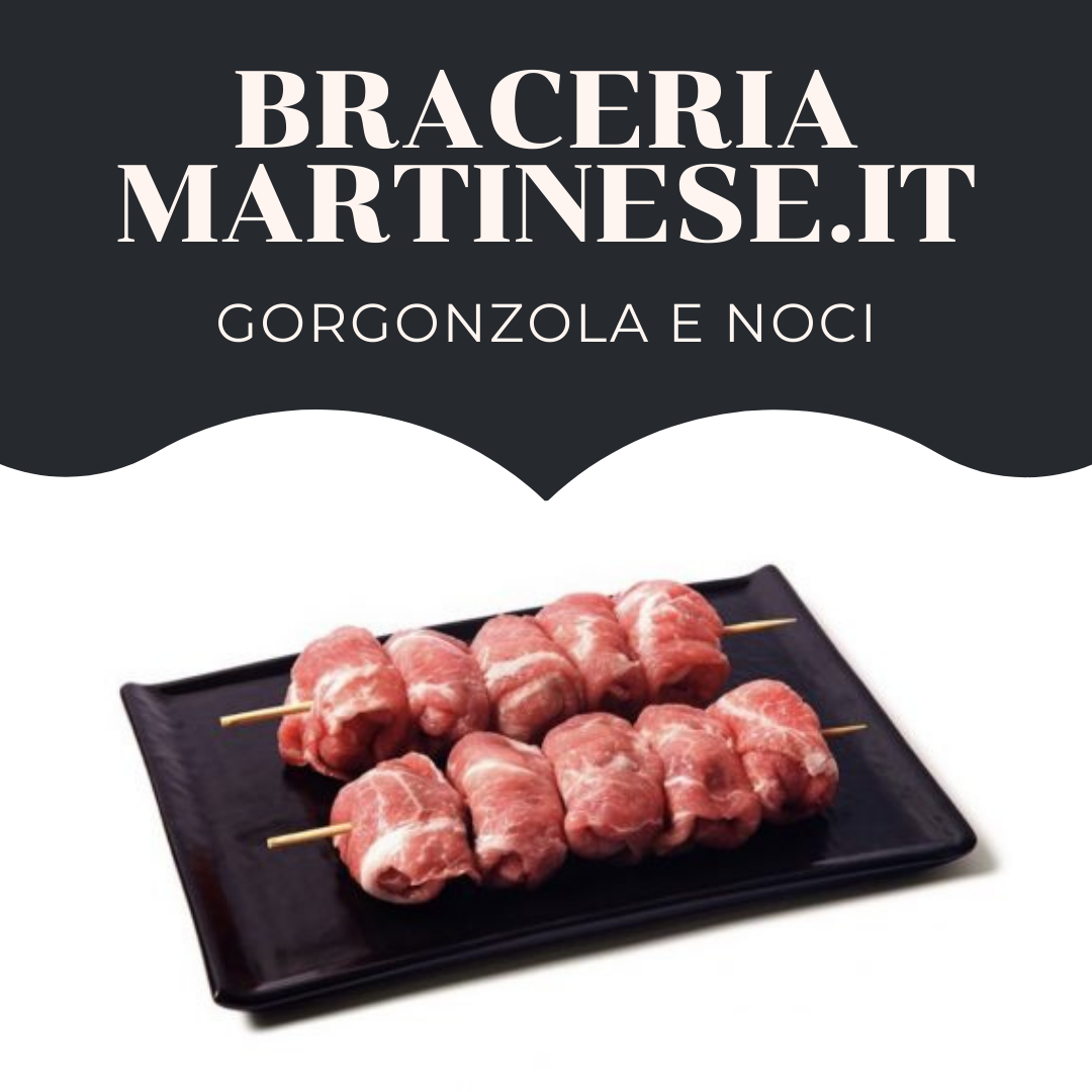 Bombette Gorgonzola e Noci