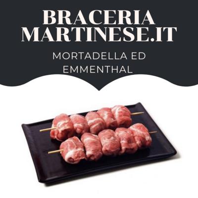 Bombette Mortadella ed Emmenthal