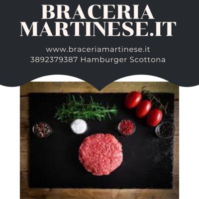 Hamburger di Scottona 600gr.