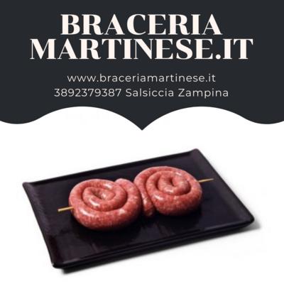 Salsiccia Zampina di Martina Franca