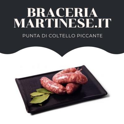 Salsiccia Punta di Coltello Piccante