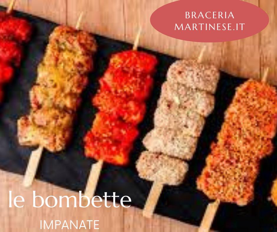 Bombette Impanate al Pistacchio