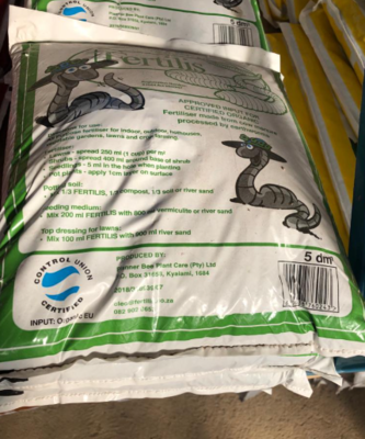 PLANT FOOD FERTILIZER 5DM