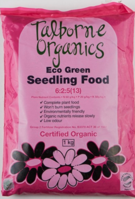 SEEDLINGS FOOD 1KG
