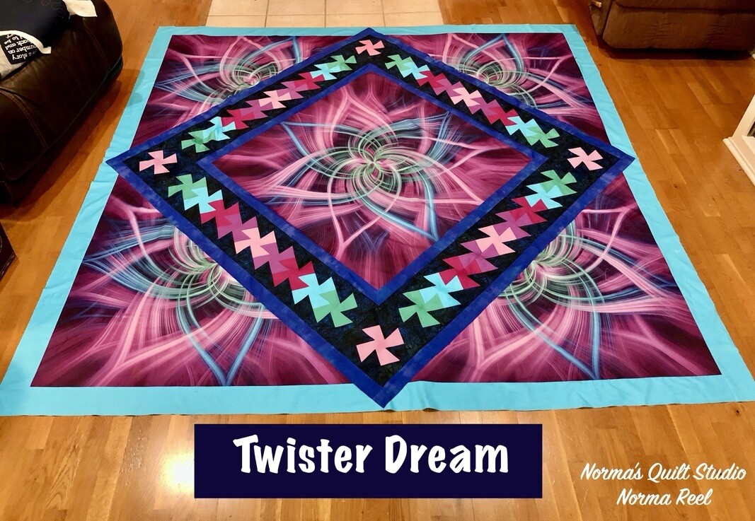 Twister Dream - Pre-Recorded Class Available October 23rd - November 23rd