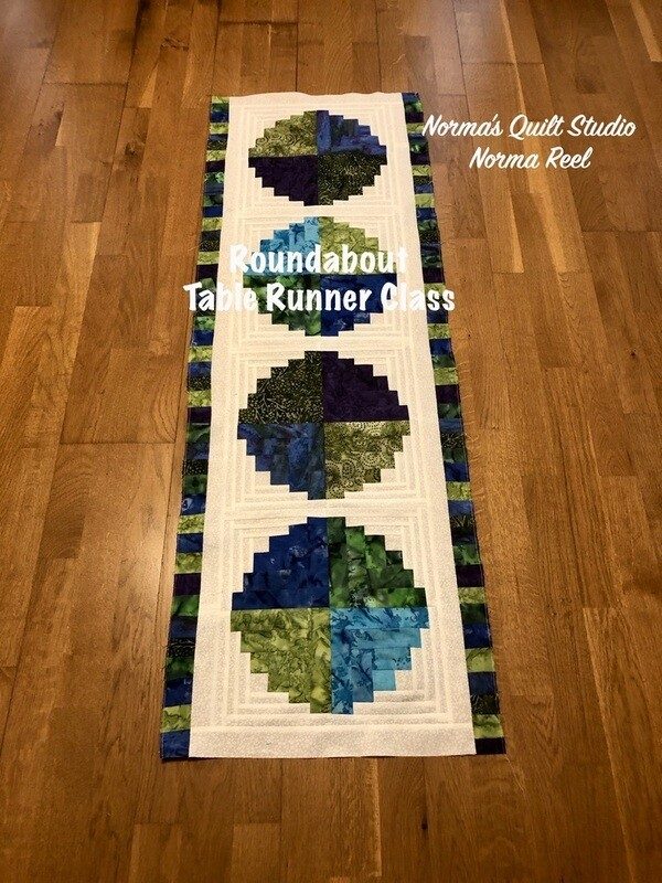 Roundabout Table Runner - Pre-Recorded Class