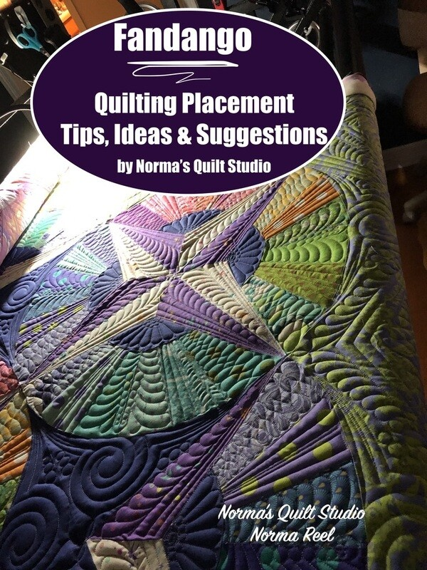 Fandango - Quilting Placement (Tips, Ideas & Suggestions) - Downloadable Video