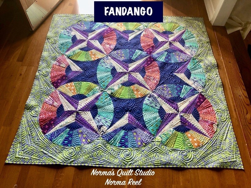 Fandango Piecing Pre-Recorded Class