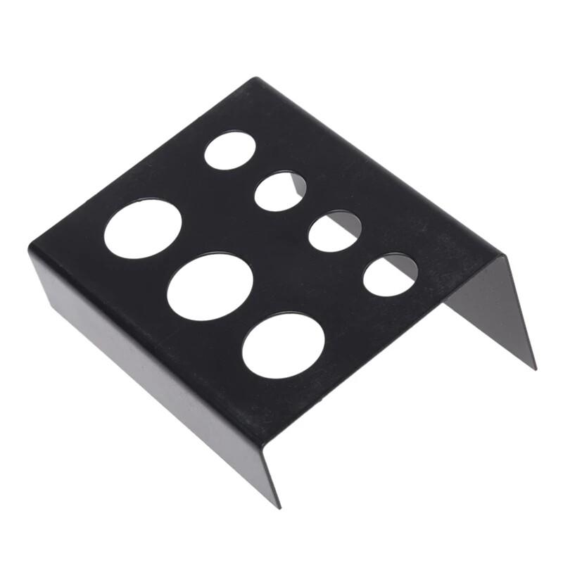 Металлическая подставка для пигментов черная