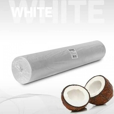 Простыни в рулоне одноразовые белые 70*200 20 гр.м.