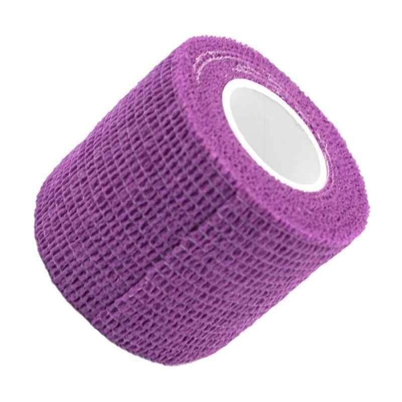 Бандажный эластичный бинт5 см. фиолетовый